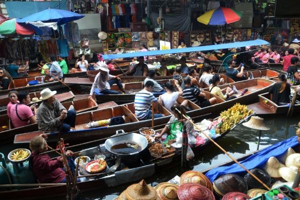 Bangkok-river market