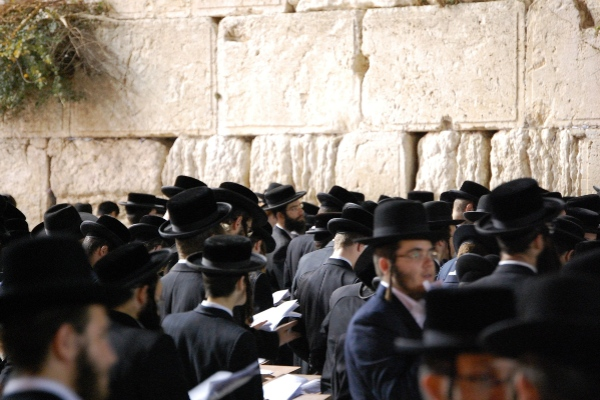 Jerusalem-Jews at wall