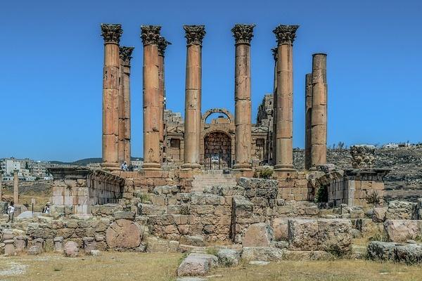 Jordan architecture and Ruins