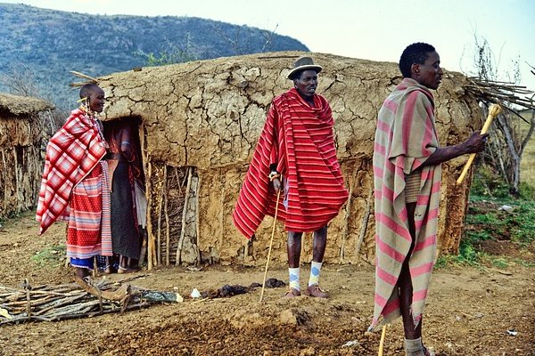 Kenya Masai Mara Tribe