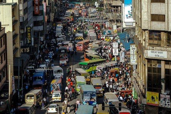 Nairobi Crowded Streets in Kenya