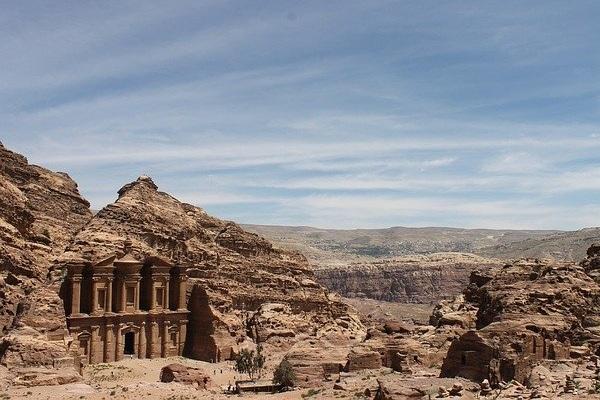 Petra Ruins Jordan