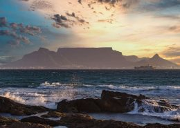 sunset-Table Mountain South Africa