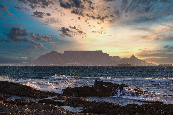 sunset-Table Mountain South Africa blog image